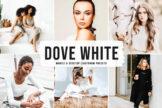 Last preview image of Dove White Mobile & Desktop Lightroom Presets