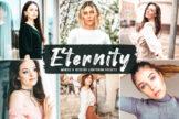 Last preview image of Eternity Mobile & Desktop Lightroom Presets