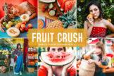 Last preview image of Fruit Crush Mobile & Desktop Lightroom Presets
