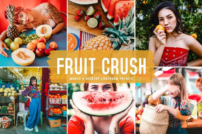 Preview image of Fruit Crush Mobile & Desktop Lightroom Presets