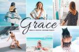 Last preview image of Grace Mobile & Desktop Lightroom Presets