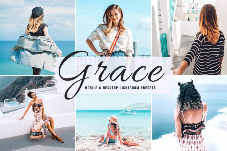 Preview image of Grace Mobile & Desktop Lightroom Presets
