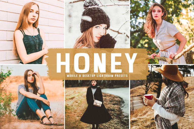 Preview image of Honey Mobile & Desktop Lightroom Presets