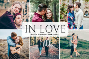 In Love Mobile & Desktop Lightroom Presets