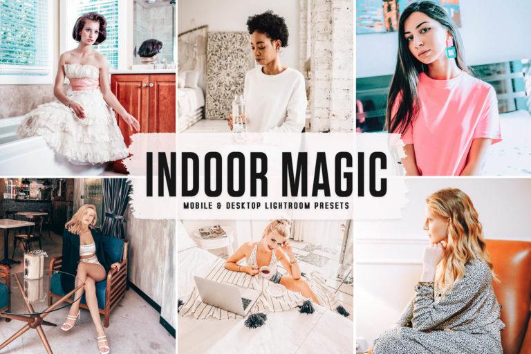 Preview image of Indoor Magic Mobile & Desktop Lightroom Presets