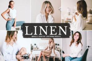 Linen Mobile & Desktop Lightroom Presets