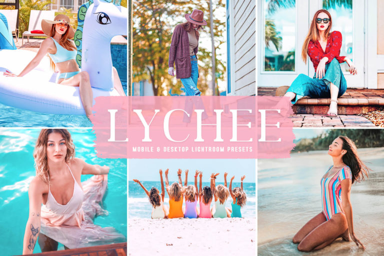 Preview image of Lychee Mobile & Desktop Lightroom Presets
