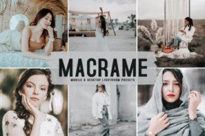 Macrame Mobile & Desktop Lightroom Presets