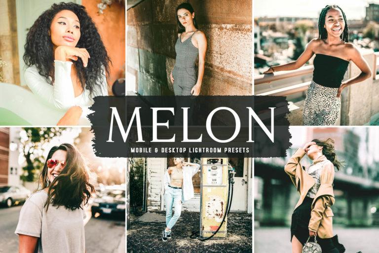Preview image of Melon Mobile & Desktop Lightroom Presets