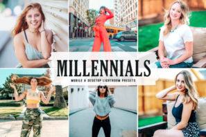 Millennials Mobile & Desktop Lightroom Presets