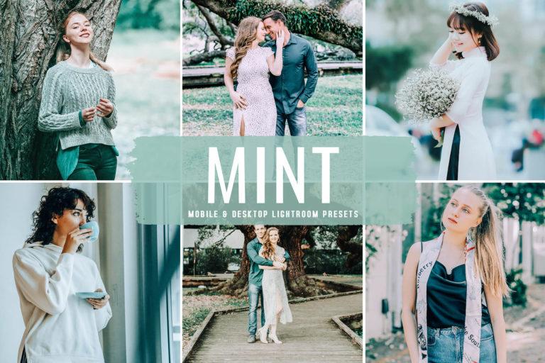Preview image of Mint Mobile & Desktop Lightroom Presets