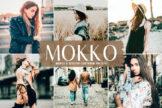 Last preview image of Mokko Mobile & Desktop Lightroom Presets
