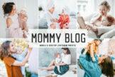 Last preview image of Mommy Blog Mobile & Desktop Lightroom Presets