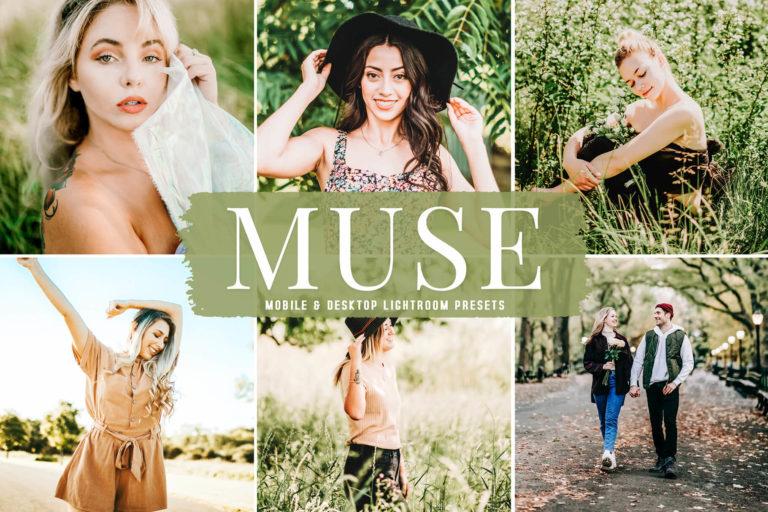 Preview image of Muse Mobile & Desktop Lightroom Presets