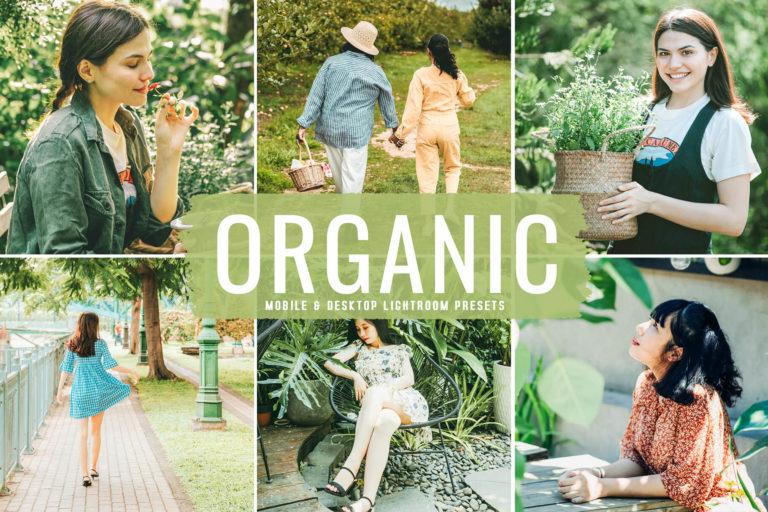 Preview image of Organic Mobile & Desktop Lightroom Presets