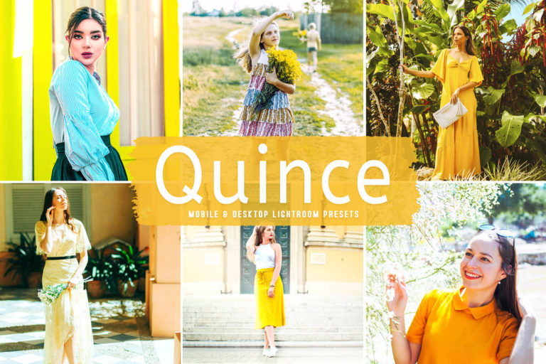 Preview image of Quince Mobile & Desktop Lightroom Presets