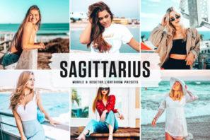 Sagittarius Mobile & Desktop Lightroom Presets