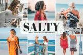 Last preview image of Salty Mobile & Desktop Lightroom Presets