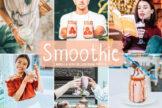 Last preview image of Smoothie Mobile & Desktop Lightroom Presets