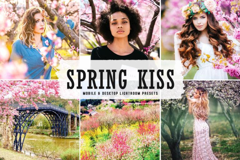 Preview image of Spring Kiss Mobile & Desktop Lightroom Presets