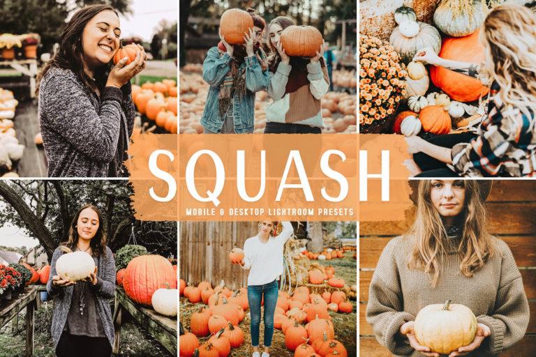 Preview image of Squash Mobile & Desktop Lightroom Presets