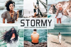 Stormy Mobile & Desktop Lightroom Presets