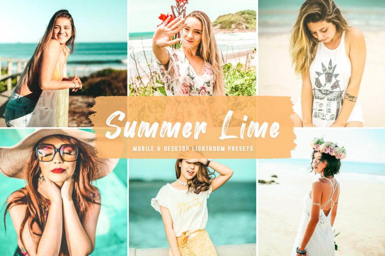 Preview image of Summer Lime Mobile & Desktop Lightroom Presets