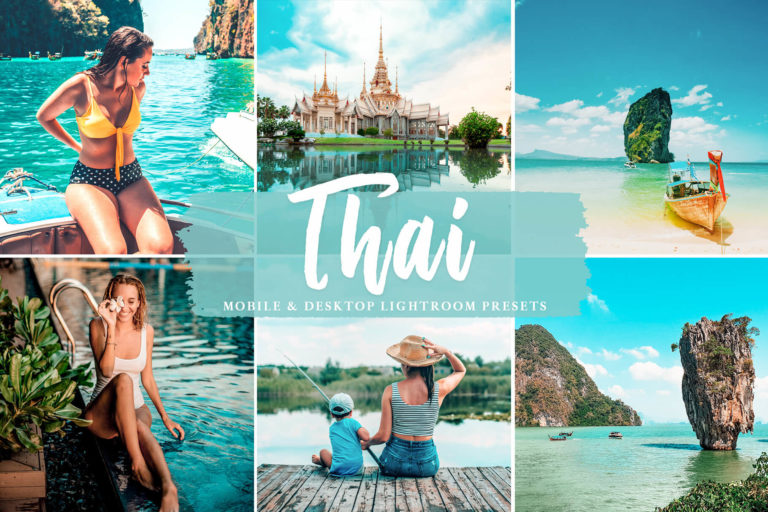Preview image of Thai Mobile & Desktop Lightroom Presets