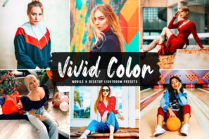 Vivid Color Mobile & Desktop Lightroom Presets