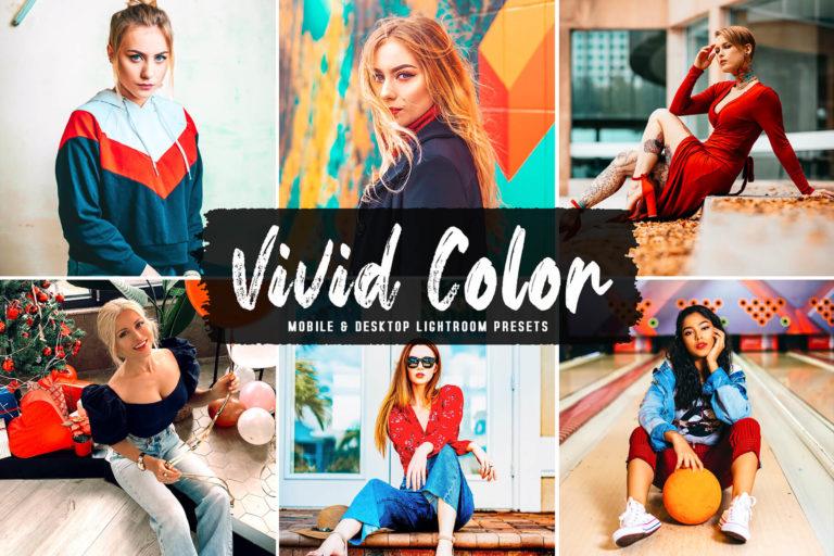 Preview image of Vivid Color Mobile & Desktop Lightroom Presets