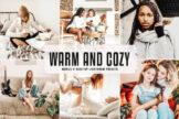 Last preview image of Warm And Cozy Mobile & Desktop Lightroom Presets