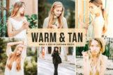 Last preview image of Warm & Tan Mobile & Desktop Lightroom Presets