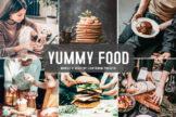 Last preview image of Yummy Food Mobile & Desktop Lightroom Presets