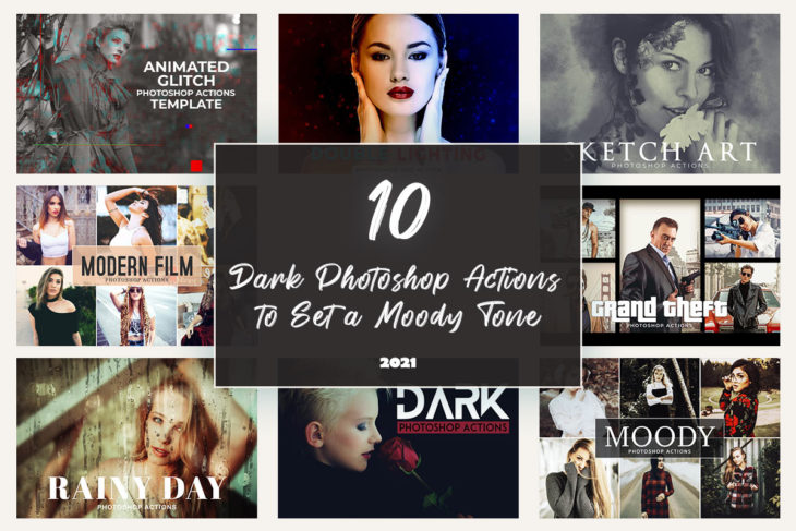 picture of 10 Dark Photoshop Actions to Set a Moody Tone