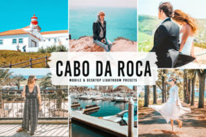Cabo da Roca Mobile & Desktop Lightroom Presets