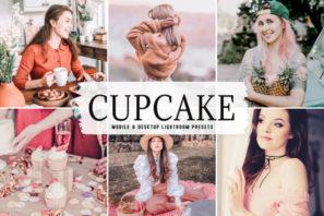 Cupcake Mobile & Desktop Lightroom Presets
