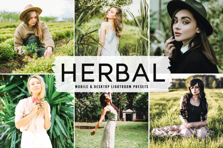 Preview image of Herbal Mobile & Desktop Lightroom Presets