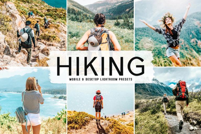 Preview image of Hiking Mobile & Desktop Lightroom Presets