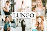 Last preview image of Lungo Mobile & Desktop Lightroom Presets