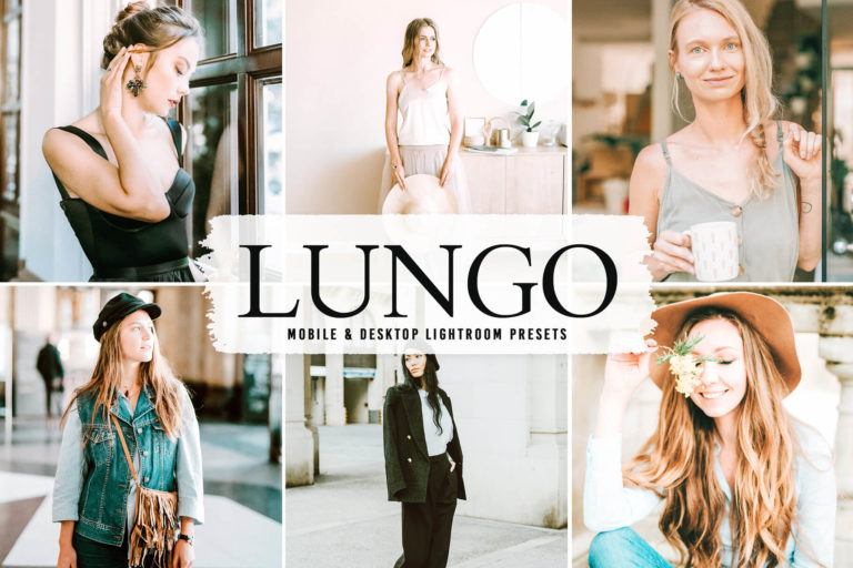 Preview image of Lungo Mobile & Desktop Lightroom Presets