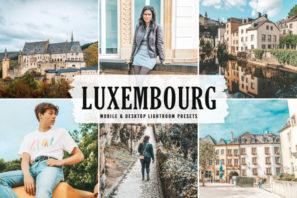 Luxembourg Mobile & Desktop Lightroom Presets