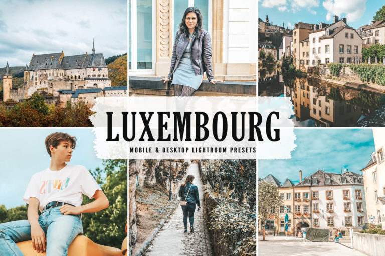 Preview image of Luxembourg Mobile & Desktop Lightroom Presets