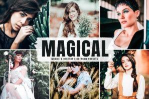 Magical Mobile & Desktop Lightroom Presets