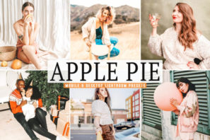 Apple Pie Mobile & Desktop Lightroom Presets
