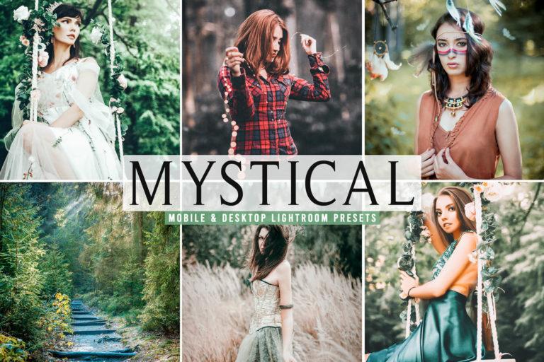 Preview image of Mystical Mobile & Desktop Lightroom Presets