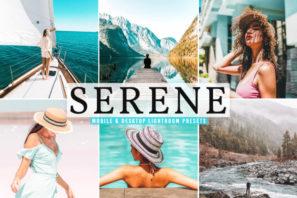 Serene Mobile & Desktop Lightroom Presets