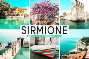 Sirmione Mobile & Desktop Lightroom Presets