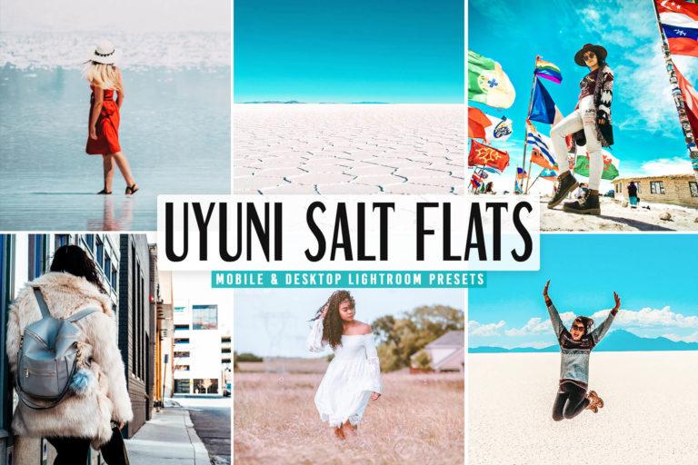 Preview image of Uyuni Salt Flats Mobile & Desktop Lightroom Presets