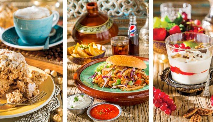 Diergaarde Blijdorp Poort van Azië verschillende gerechten