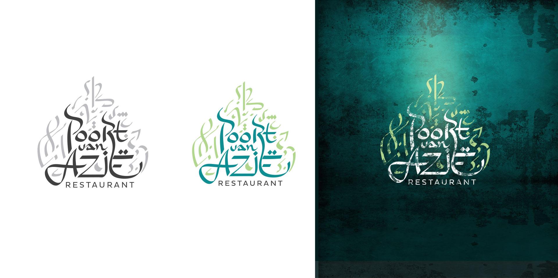 Diergaarde Blijdorp Poort van Azië logo's verschillende stijlen